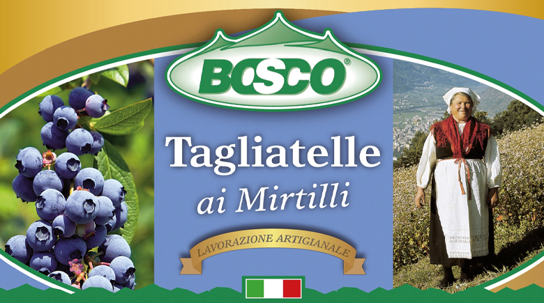 Bosco - Tagliatelle ai mirtilli