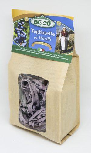 Un pacco di tagliatelle ai mirtilli Bosco