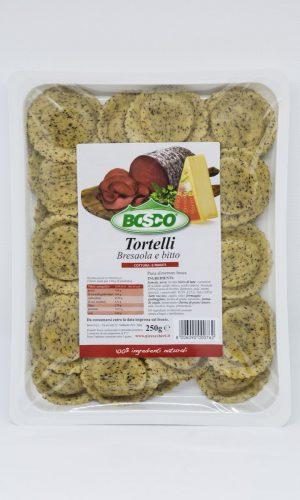 Bosco - Tortelli freschi bresaola e bitto