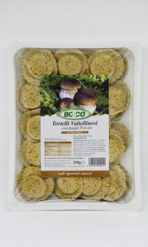 Bosco - Tortelli valtellinesi con porcini
